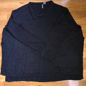 H&M Black Knit Sweater